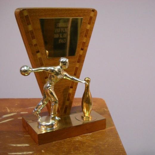 Male Bowling Trophy