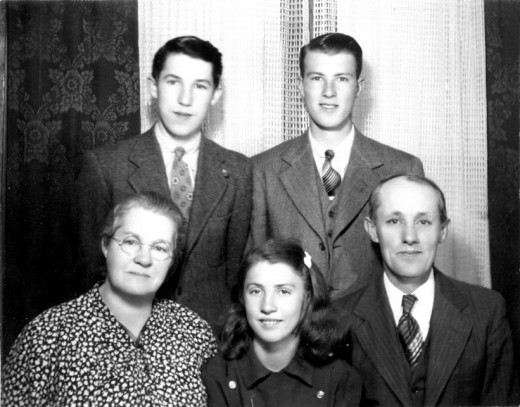 Rev. Harry W. Smith Family