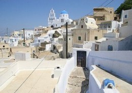 A village in Pyrgos