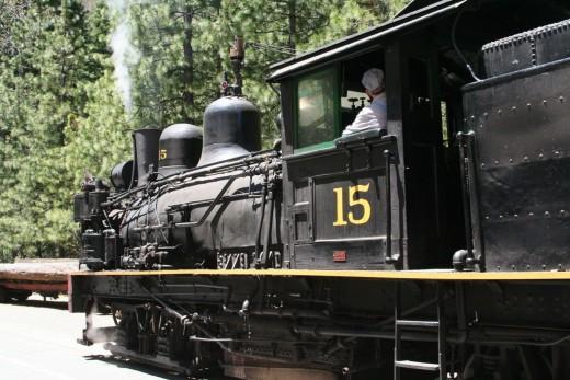 Number 15 Locomotive