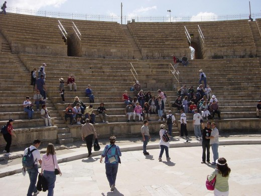 Caesarea by the Sea -- Theatre