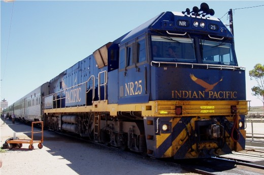 Indian Pacific Locomotive