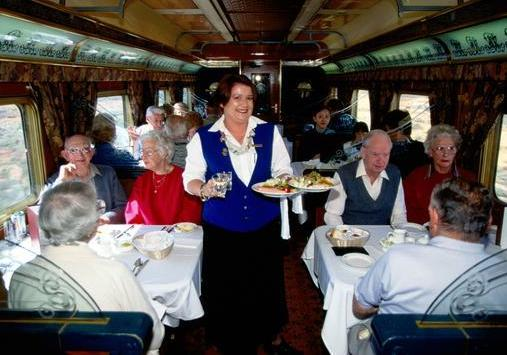 Indian Pacific Dining Car