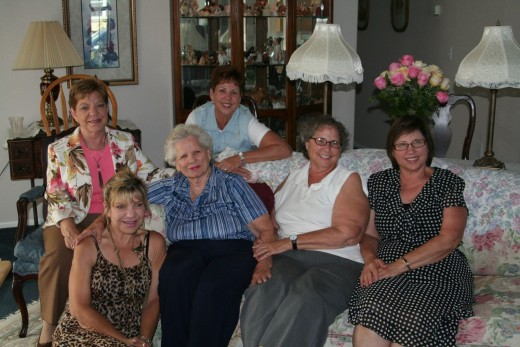 Mom Adams and her Five Girls