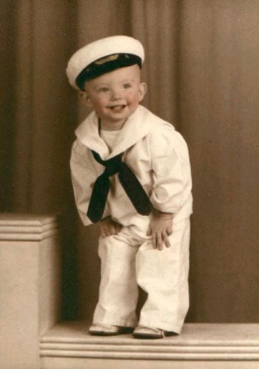 Her little nephew Harry Smith
