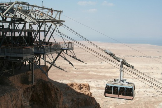 Masada: The Cable car