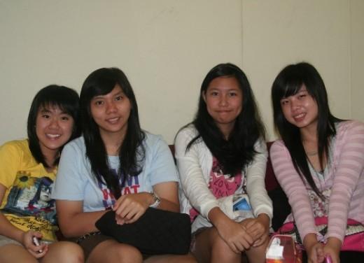 Jesslyn, Gladis, Adelina and Jessica