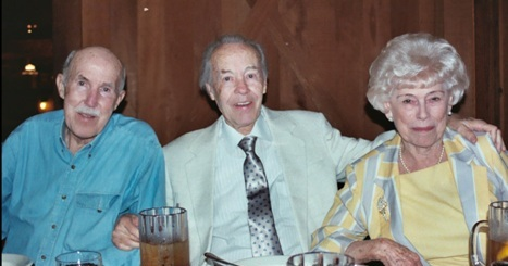Uncle Bill with Mendell and Sevilla