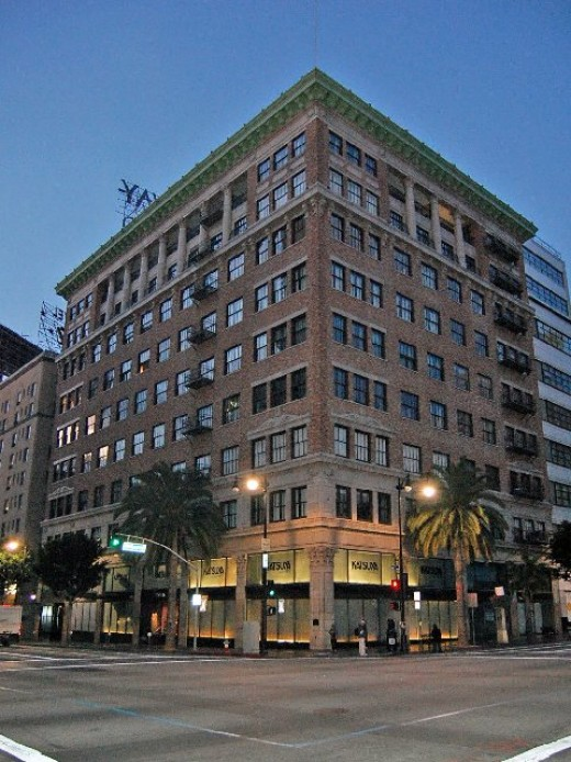 This is the Broadway Department Store at Hollywood and Vine