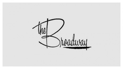 The Broadway Department Store Logo, from the 1960s