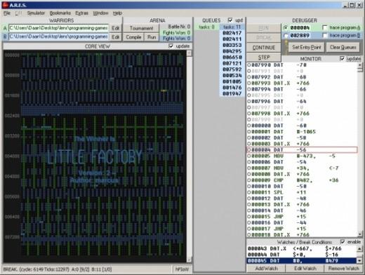ARES simulator homepage