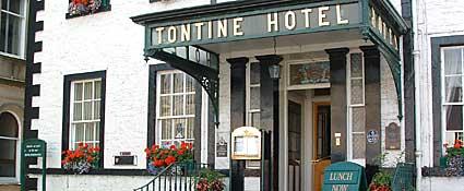 The Tontine Hotel, Peebles, Scotland