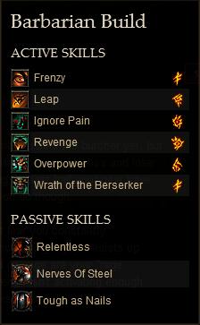 barbarian inferno solo build