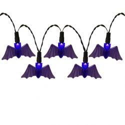 Bat Halloween String Lights