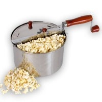 Stainless Steel Stovetop Popcorn Popper