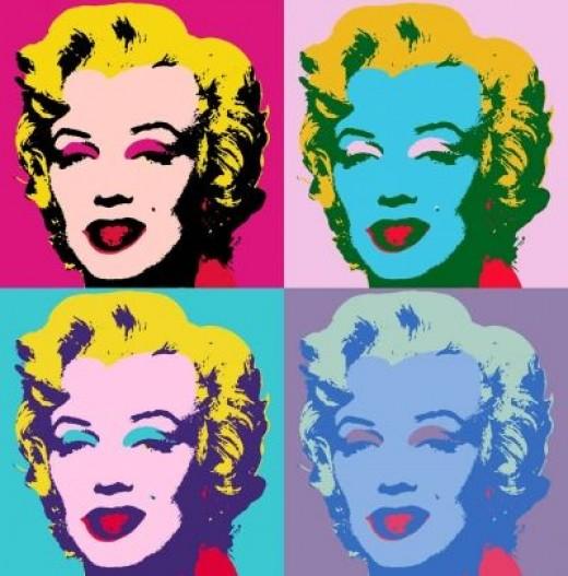Marilyn Monroe Traditional warhol image
