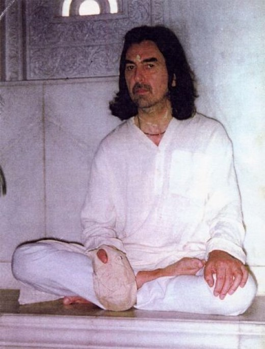 George Harrison Chanting Hare Krishna