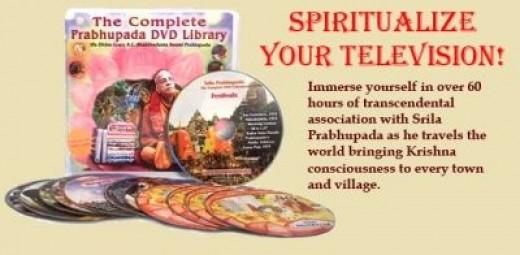 Srila Prabhupada DVD Set