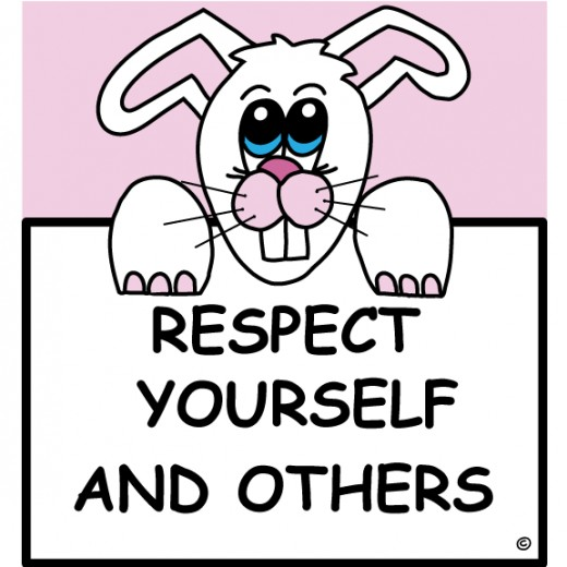respectful rabbit, respect, characters of character, character traits, teaching respect