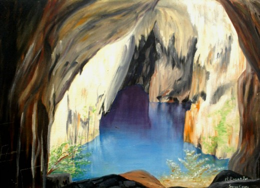 Sinoia Caves Zimbabwe