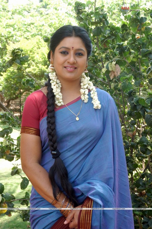 Sana Telugu Serial Actress Saree Photos Image 6