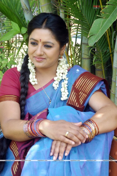 Sana Telugu Serial Actress Saree Photos Image 17