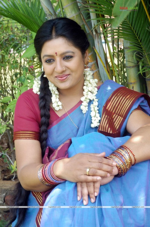 Sana Telugu Serial Actress Saree Photos Image 20