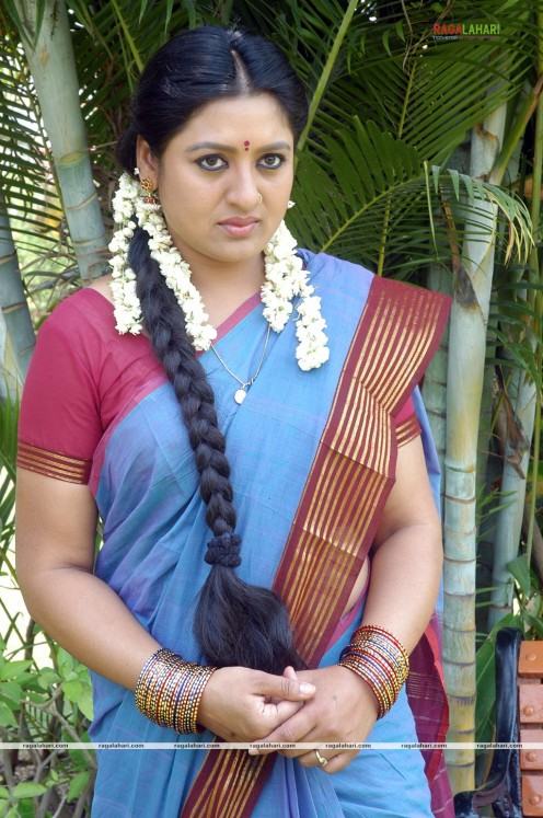 Sana Telugu Serial Actress Saree Photos Image 23