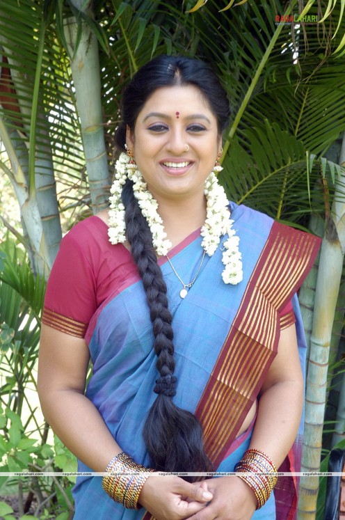 Sana Telugu Serial Actress Saree Photos Image 24