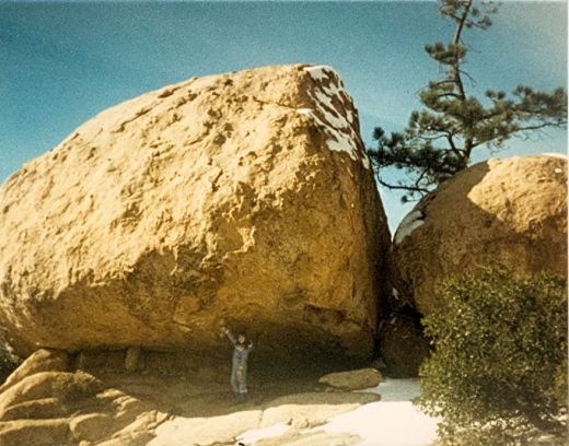 See how big the rocks are out at The Pinnacles.