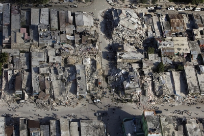 Haiti Earthquake Destruction Downtown