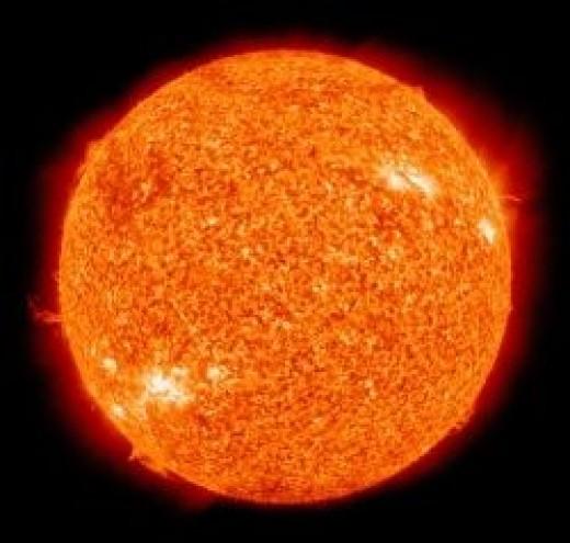 the sun public domain by nasa