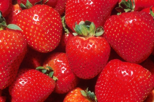 strawberries public domain