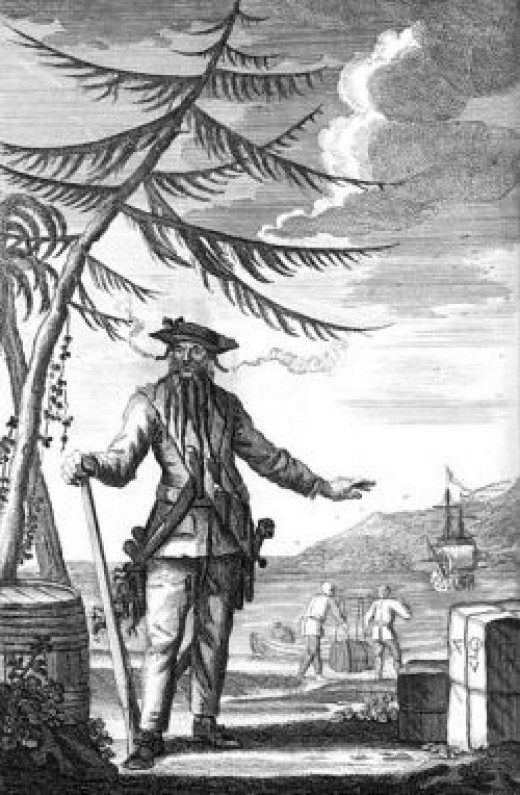 blackbeard public domain: copyright expired