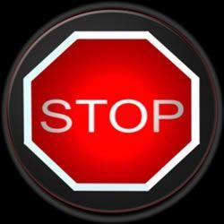 stop sign public domain