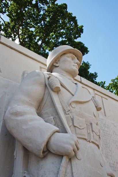 soldier statue public domain