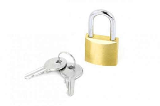 padlock public domain