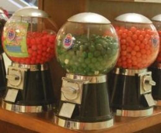 Gum Ball Machines