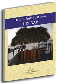 Get Started building your own tiki bar or hut today