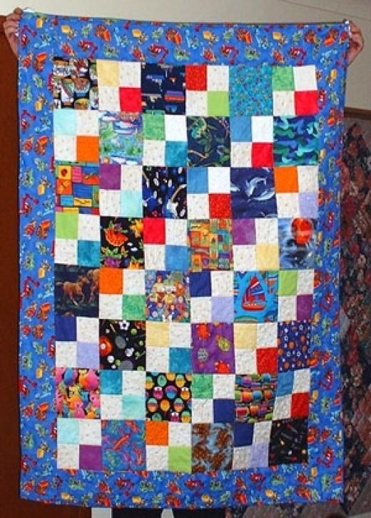 Grandson Tyler's quilt
