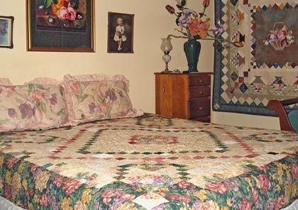 Jan and Bob's scrap quilt