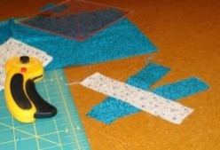 Beginning patchwork: perfect quarter inch seams