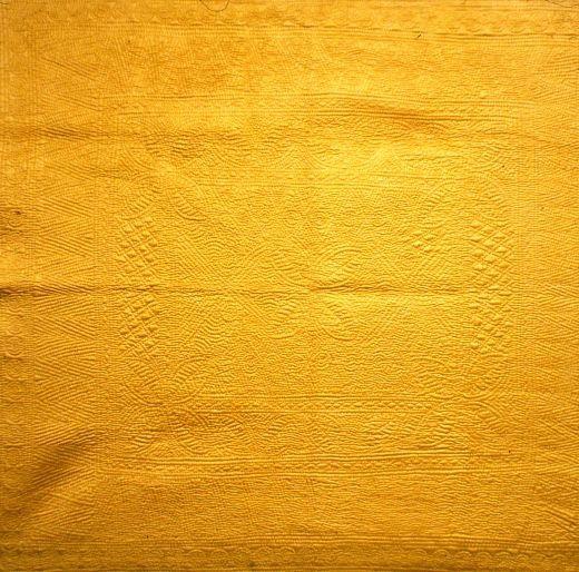 Antique Welsh whole cloth quilt