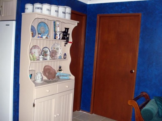 An old dresser revamped