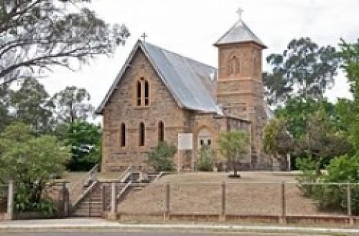Catholic church Rylstone