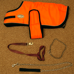 Shedrow K9 Winter Dog Jacket and Dog Leashes