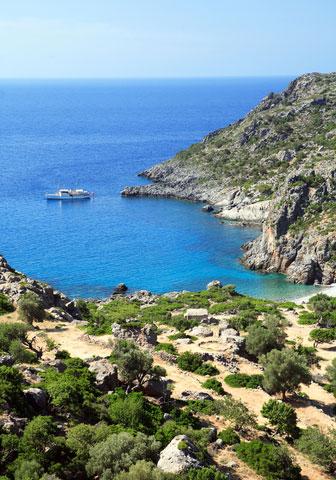 Lissos: antiquity site on Crete