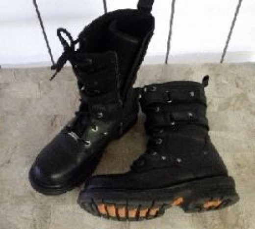 Used Harley Boots I bought on eBay