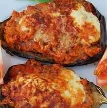 Feel free to add vegan cheese to your stuffed eggplant - it takes it from luscious to divine.
