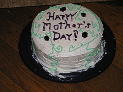 American Mother's Day Cake